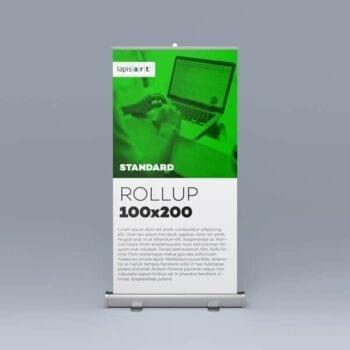 Rollup Standard 100x200