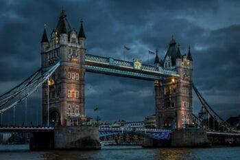 tower bridge, thames, river